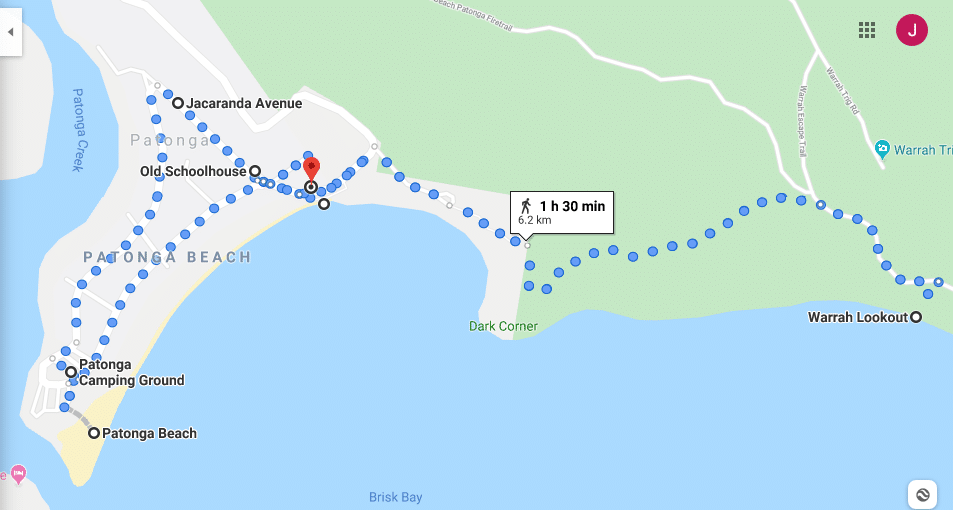 Patonga Walk Map