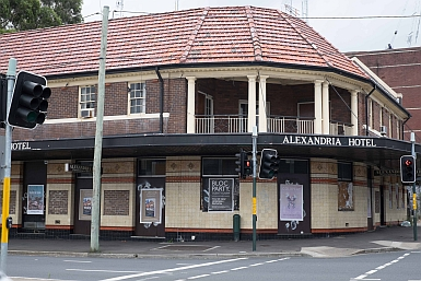 The Alexandria Hotel