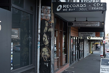 Records on Parramatta Road