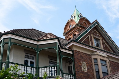 Queen Anne Mansion in Ashfield
