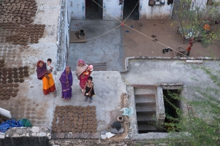 Indian Villagers outside Jaipur