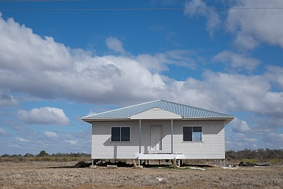 Isolated home in Country Australia