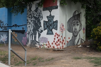 ANZAC Street Art in Blacktown