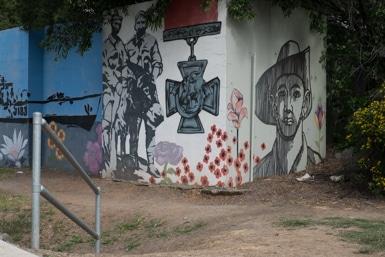 ANZAC Street Art in Blacktown