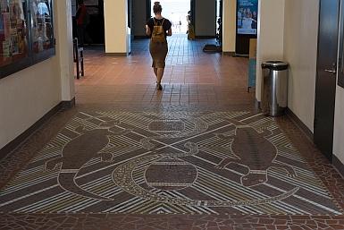 Aboriginal Artwork in Bondi Pavilion