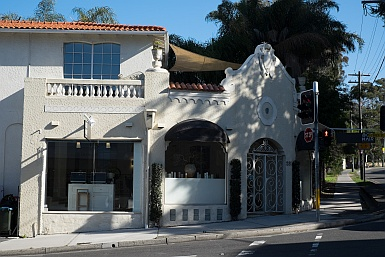 Spanish Mission shopfront