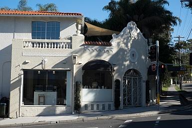 Spanish Mission shopfront