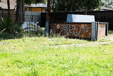 Aboriginal Artwork in Bonnyrigg