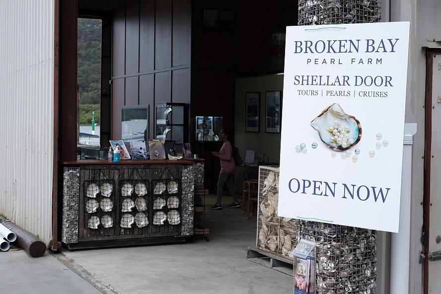 The Shellar Door of Broken Bay Pearls
