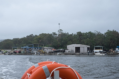 Off to see the Pearl Farm at Broken Bay