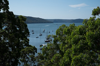 View of the Hawkesbury River