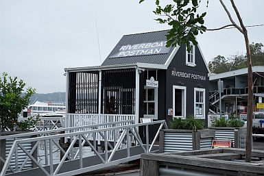 Riverboat Postman Ticket Office