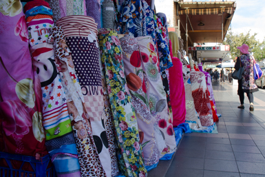 Fabric rolls in Cabramatta