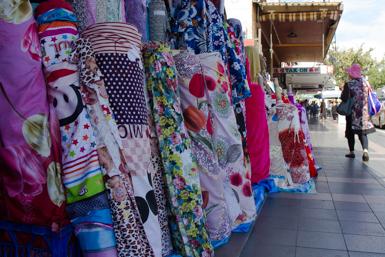 Fabric rolls in Cabramatta
