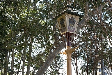 Gas lamp from Campbelltown Scotland