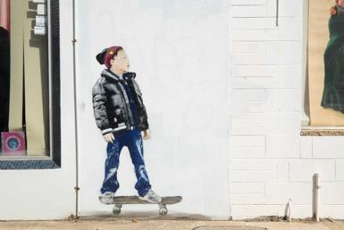 Skateboarding by Camo