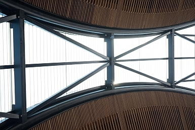 Vaulted Ceiling of Castle Hill Metro
