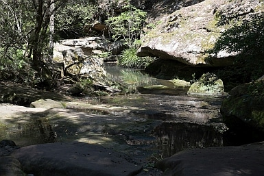 Creek in Bidjigal Reserve