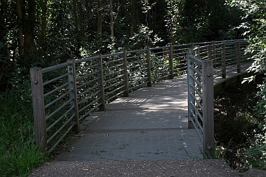 Bridge in the Heritage Park