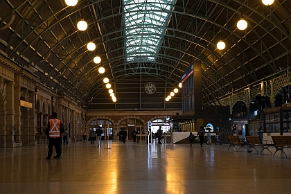 Main Concourse of Central Station Sydney