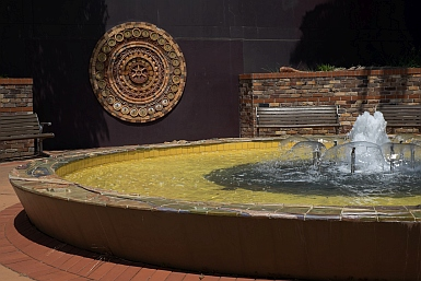 Fountain in Mashman Park, Chatswood