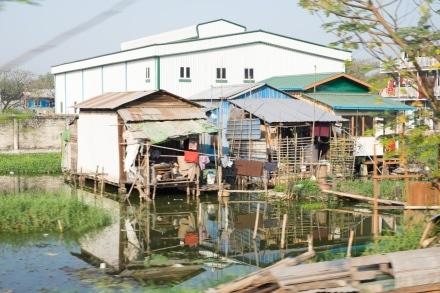 Stilt houses of Yangon