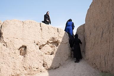 Touring Iran