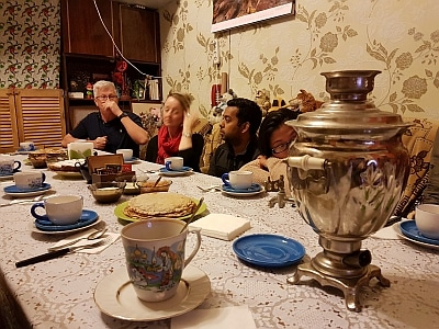 One family lives in one room in St Petersburg