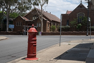 Heritage Post Box in Concord West