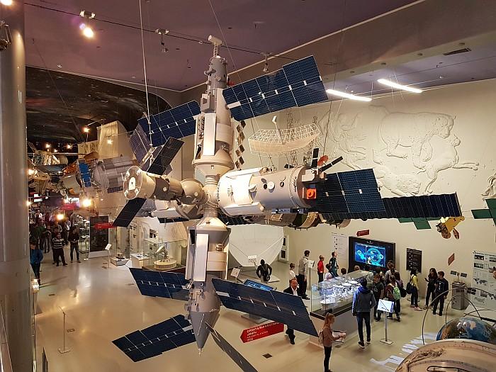 Displayed in Cosmonaut Museum