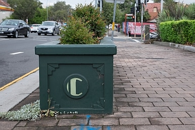 Art Deco Planter Boxes in Cremorne