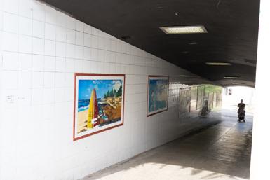 Underpass to Gunnamatta Bay