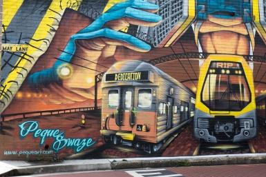 Street art St Peters