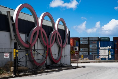 Olympic Rings in St Peters