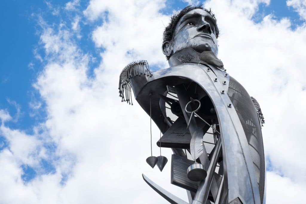 Lachlan Macquarie in Liverpool