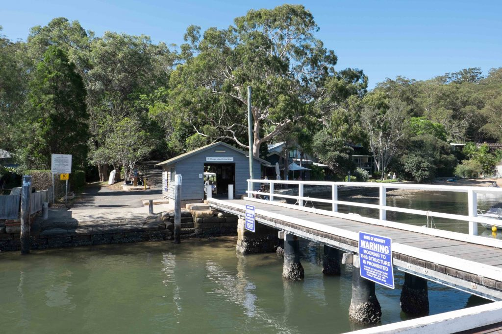 Dangar Island Wharf