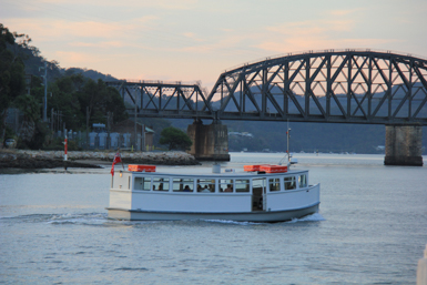 Dangar Island Ferry and Hawkesbury River Bridge
