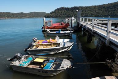 Dangar Island Public Wharf
