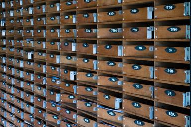 Dangar Island Mail Service