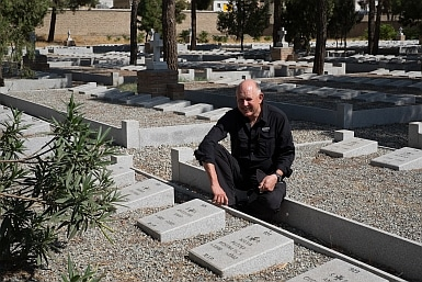 Grandparents buried in Tehran