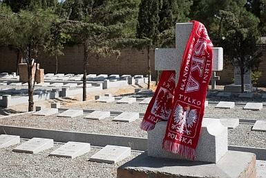Polish scarf in Tehran