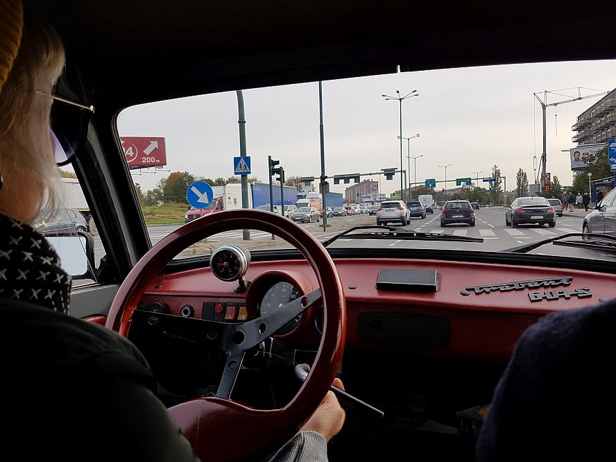Crazy Guides in a Trabant