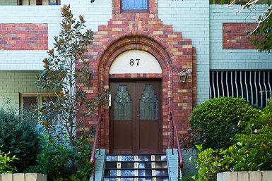 Art Deco Unit Block