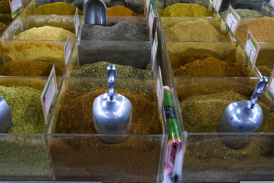 Spices at Paddy's Market Flemington