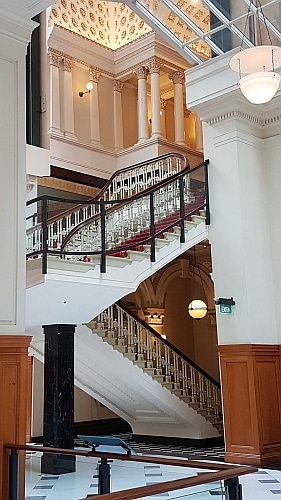 Historic Staircase at the Fullerton Hotel Sydney No.1 Martin Place