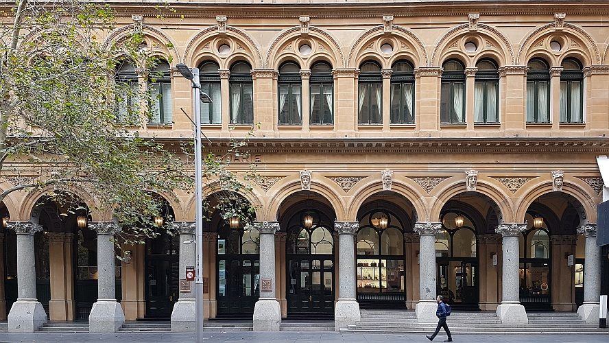 Old Sydney GPO at No. 1 Martin Place