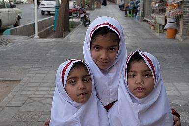 White Hijab for School Girls