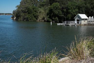 Bedlam Bay in Gladesville