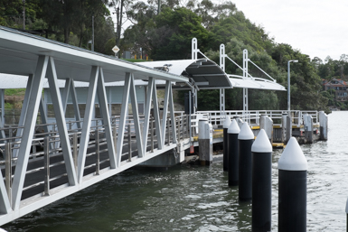 Huntley's Point Wharf in Gladesville