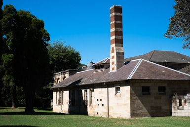 Pottery Building at Gladesville Hospital